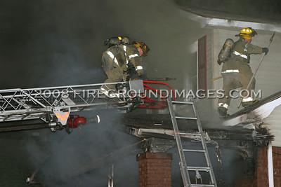Rochelle St. Fire (Detroit, MI) 7/29/07