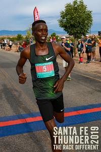 Half Marathon Finish 2019 Santa Fe Thunder