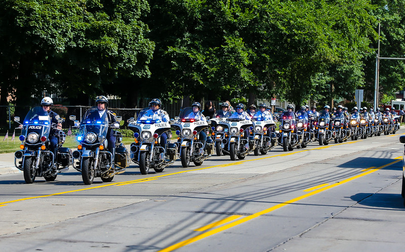 Cleveland Police Funeral