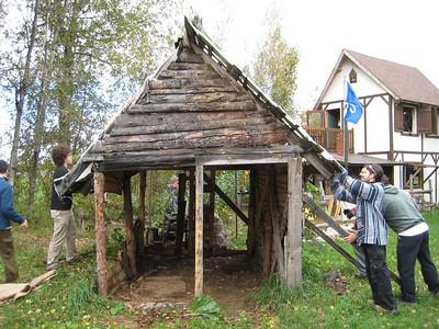 2010-10-02 Démolition de la Citadelle et de la cabane du maire par Vero