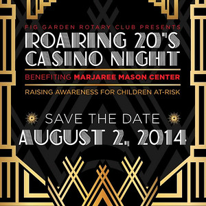 Fig Garden Rotary Casino Night August 2014