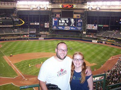<b>July '05: Milwaukee Brewers vs. Arizona Diamondbacks</b>