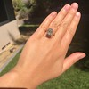 4.71ct Antique Asscher Cut Diamond GIA WX VS2 3