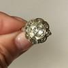 3.45ctw Antique Rose Cut Cluster Ring 16