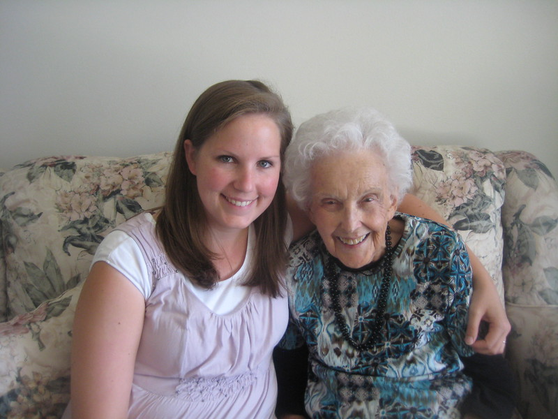 Becca and Grandmother Criddle 2011.JPG