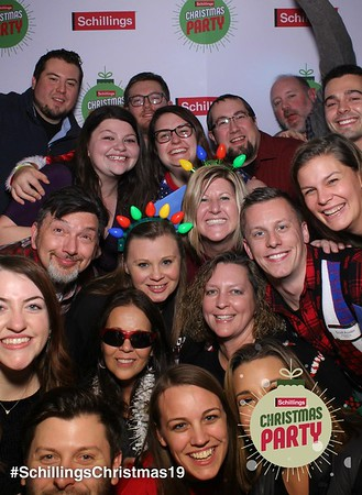 Schillings Holiday Party Mirror Booth 2019