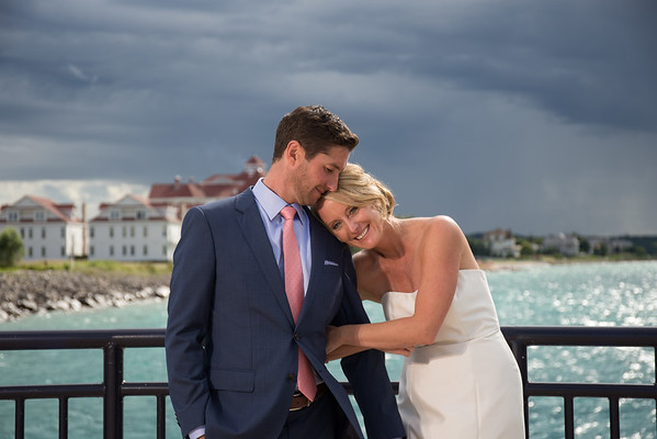 Petoskey area Wedding Bay Harbor Perry Hotel Kelsey and Brent