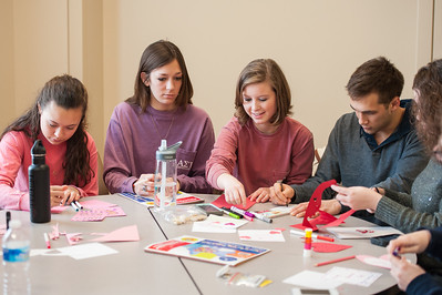 Valentines for Kids at Vanderbilt Children's Hospital