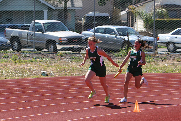 2007 Islander Track Dual Meet with Hoover
