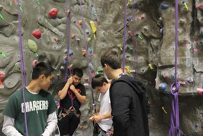 Indoor Rock Climbing 16Oct16