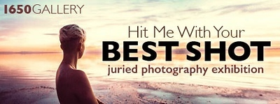 "23.09.2017 - ""Hit Me With Your Best Shot"" exhibition at the 1650 Gallery"