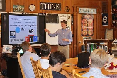 Logan Harper '15 Kean Fellowship Lecture