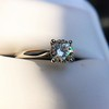 0.78ct Round Brilliant Diamond Bridal Set by Cartier 73