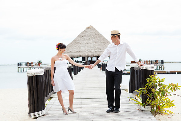 Daniel & Ashley Destination Wedding - Placencia, Belize