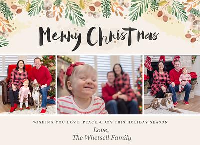 Whetsell Family |  Holiday 2018