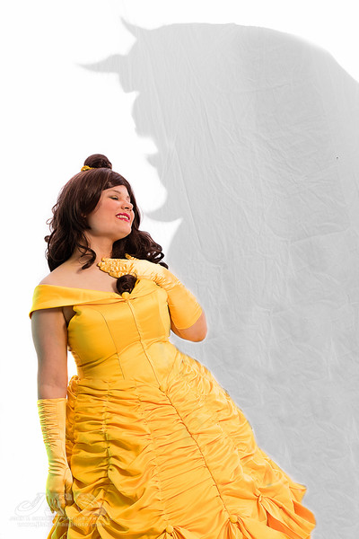 NikkiWho Cosplay as Belle from Beauty and the Beast