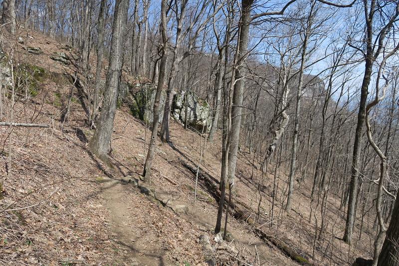 White Rocks Overlook Trail - 3,140'