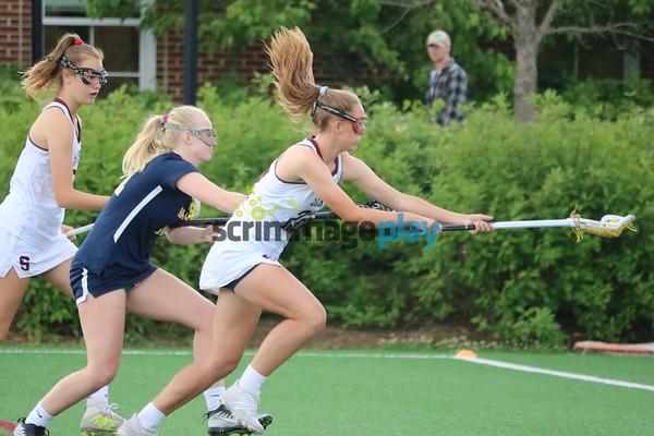 STAB versus St. Catherine's girls lacrosse 2021