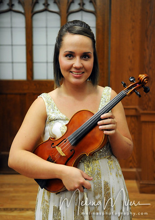 Becky Gaunt, Violin, Senior Recital
