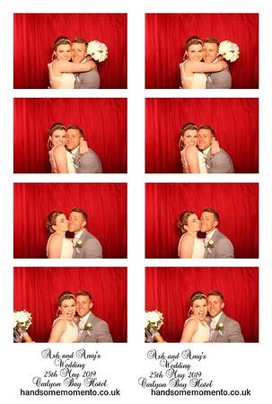 Amy and Ash's  Wedding at Carlyon Bay Hotel 25-05-19