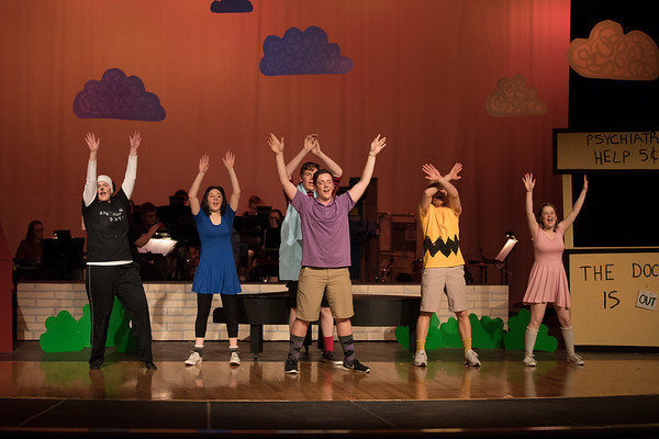 Arvada West Theatre Company - You're a Good Man Charlie Brown - Dress Rehearsal