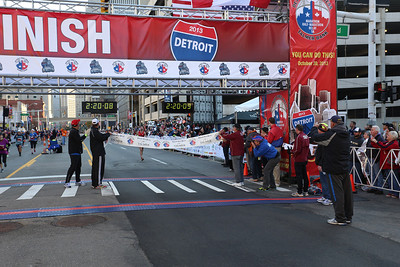 Marathon Finish Gallery 4 - 2013 Detroit Free Press Talmer Bank Marathon