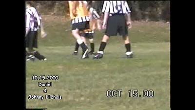 10.15.200 Soccer Against Daniel's Team