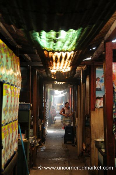 Market Hallway - Xela, Guatemala