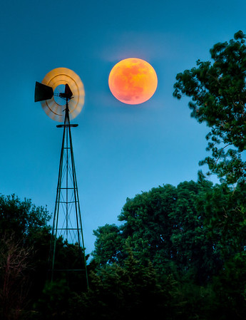 Moonrise~Supermoon