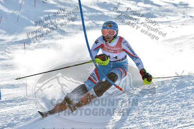 U16 Girls Slalom
