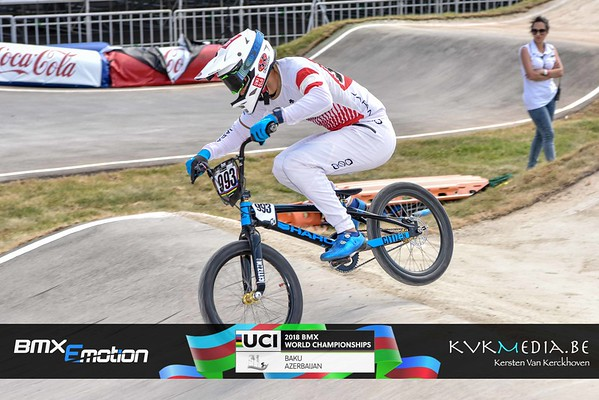 UCI BMX WC BAKU - practise Championship Thursday
