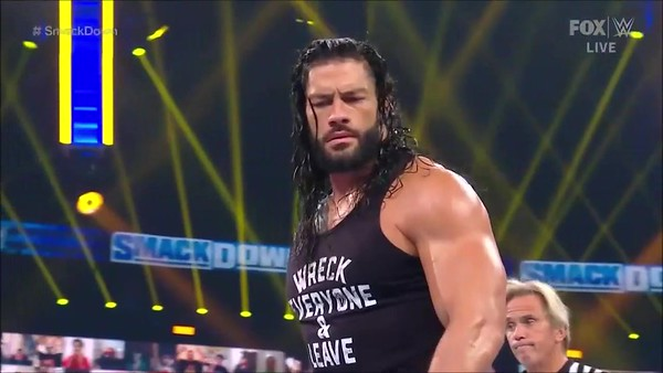 Roman Reigns - Screencaps SD / Sept.11, 2020