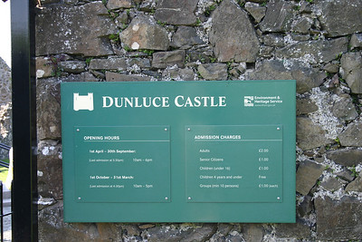 Dunluce Castle 5/14/2008