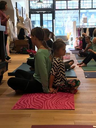 February 3 Athleta Mother/Daughter Yoga
