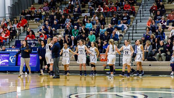 CC Girls Varsity Basketball vs Rossville-Sectionals 2018-1-27