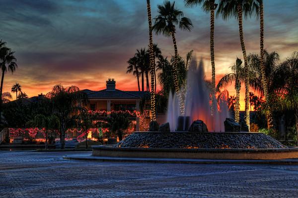 Islands Fountain Sunset-12-1-13