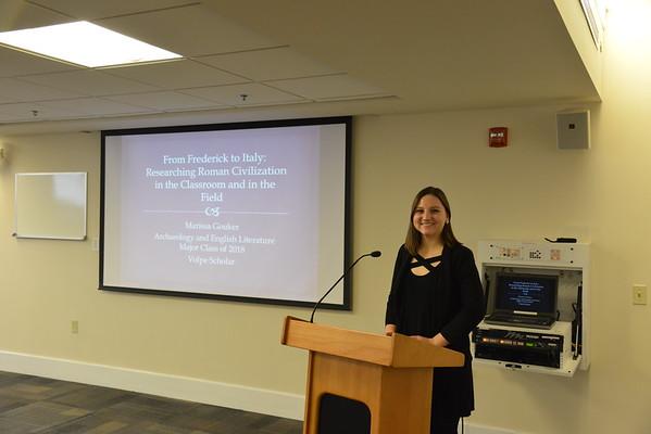 2018 Volpe Scholar Presentation