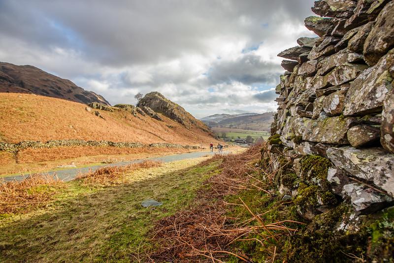 Stone walls and big climbs