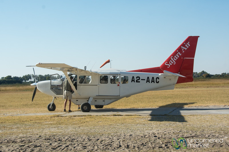 Safari Air Takes Us from Camp to Camp in Botswana