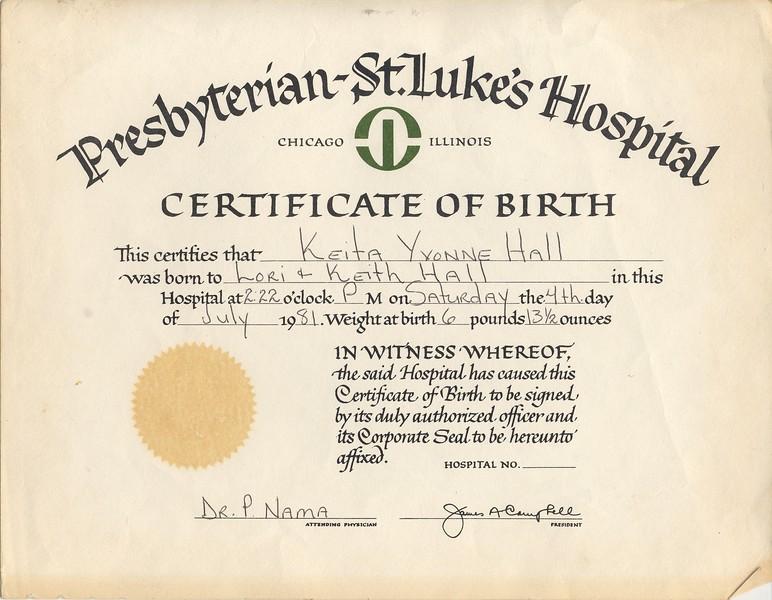1981-7-4 Keita's Birth Certificate.jpg