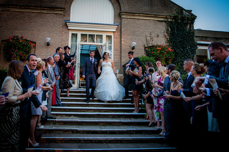 Katy and Ian's stunning Autumn Rutland wedding