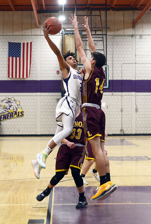 Pittsfield vs Lenox boys basketball - 012120