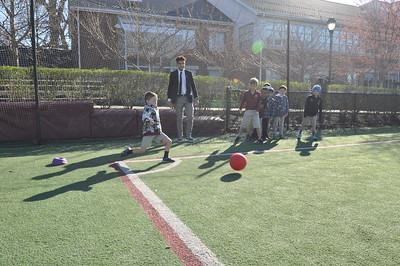 Brotherhood Project - First Grade Kickball