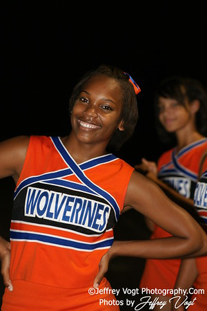 09-03-2010 Watkins Mill HS Band, Cheerleading, Poms, Photos by Jeffrey Vogt Photography