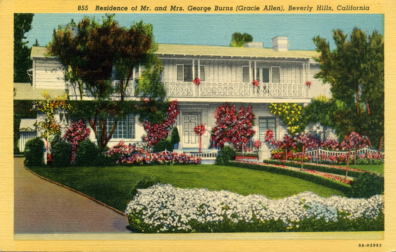 Mr. and Mrs. George Burns Residence