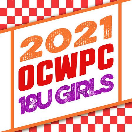OCWPC 2021 - 18U Girls
