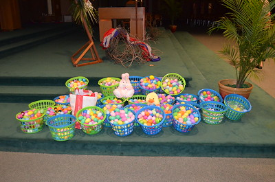 Easter Egg Collection for Migrant Workers in Watsonville