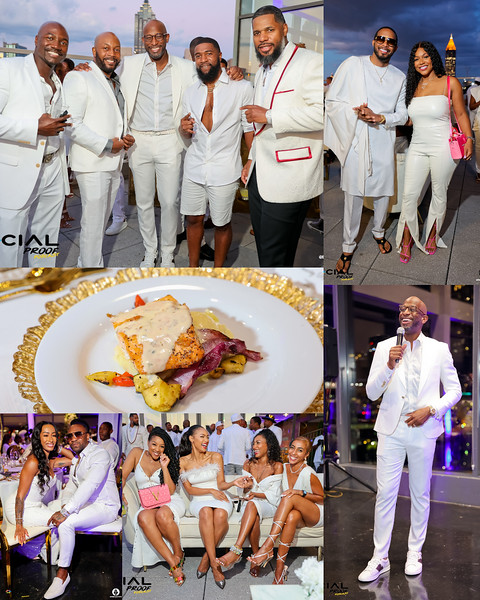 THE SOCIAL PROOF 1ST ANNUAL ALL WHITE DINNER PARTY