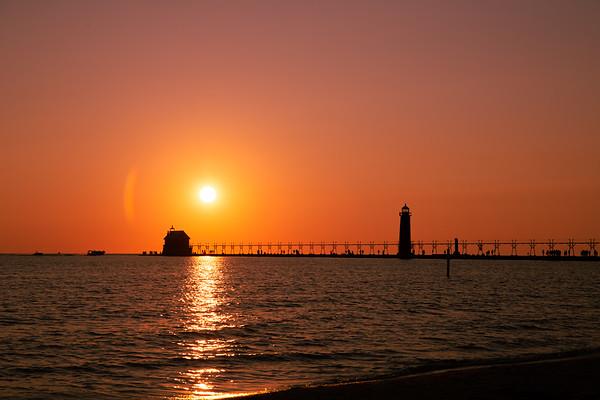 Grand Haven Pier Summer 2021