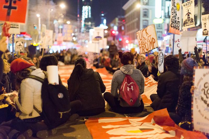 Protests Marches Vigils copyright Sam Breach 2016-20170126 - T48A0462 -We Resist No KXL no DAPL - photographed by Sam Breach 2017.jpg